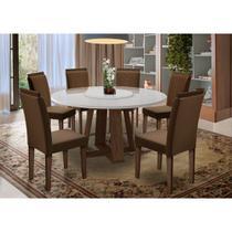 Mesa de Jantar Isabela com 6 Cadeiras Amanda New Ceval