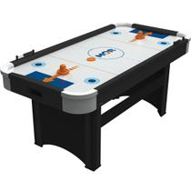 Mesa De Pebolim Jogo Air Hockey Power Play Preto 9175 Mor