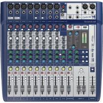 Mesa de Som 12 Canais Signature 12 AZUL Soundcraft - Alba eletronicos -