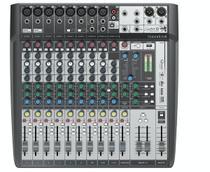 Mesa De Som 12 Canais Signature 12mkt Preto/prata Soundcraft -