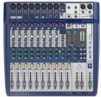 Mesa de som 12 canais soundcraft signature 12 -