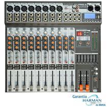 Mesa de Som 12 Canais USB SX-1202 FX USB - Soundcraft -