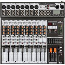 Mesa De Som 12 Canais USB SX-1202 FX USB - Soundcraft