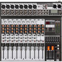 Mesa de Som 12 Canais USB SX1202FX Preto Soundcraft - Pls