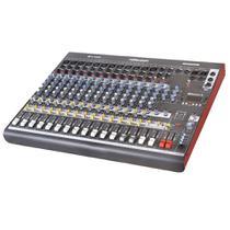 Mesa de Som 16 Canais Balanceados Millenium M1602D Usb Bluetooth - Ll áudio