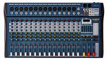 Mesa De Som 16 Canais Ksr Pro Usb Interface Bluetooth -