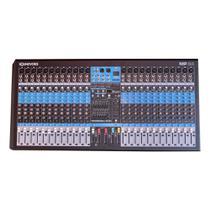 Mesa de Som 24 Canais Balanceados XLR com USB Play / Efeito / Phantom / 2 Auxiliares - SoundVoice - Soundcraft