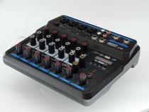 Mesa De Som 6 Canais Boxx Easy U6 Interface Usb Para Lives -
