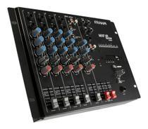 Mesa De Som 6 Canais Mxf6 Frahm Com Usb - Mixer -