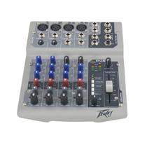 Mesa de som 6 canais Peavey PV6 com USB -
