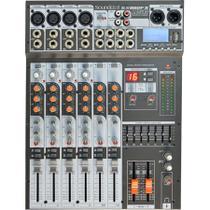 Mesa de Som 8 Canais Com USB SX-802 FX USB - Soundcraft -