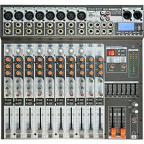 Mesa De Som 8 Canais USB Sx1202fx Preto Soundcraft -