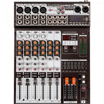 Mesa de Som 8 Canais USB SX802FX Preto Soundcraft - Pls