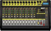 Mesa de som amplificada 12 canais 500w com mp3, entrada usb , com efeitos vz120-ii - Skp