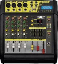 Mesa de Som Amplificada  4 Canais 400W  com MP3, Entrada USB , com Efeitos VZ-40A II - Skp