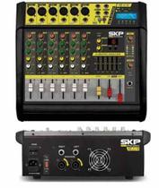 Mesa De Som Amplificada Vz60 Skp Bivolt 400w -