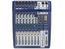Mesa de Som Analógica 10 Canais Soundcraft Signature 10 com Efeito -