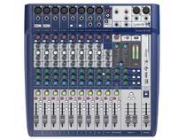 Mesa de Som Analógica 12 Canais Soundcraft Signature 12 com Efeito -