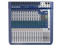 Mesa de Som Analógica 16 Canais Soundcraft Signature 16 com Efeito -