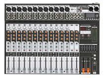 Mesa de Som Analógica 16 Canais Soundcraft SX1602FX-USB com Efeito -