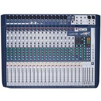Mesa de Som Analogica 22 Canais Signature - Soundcraft -