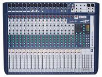 Mesa de Som Analógica 22 Canais Soundcraft Signature 22 com Efeito -