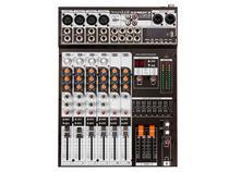 Mesa de Som Analógica 8 Canais Soundcraft SX802FX-USB com Efeito -