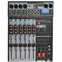 Mesa de Som Analógica 8 Canais USB Soundcraft SX802FX USB -