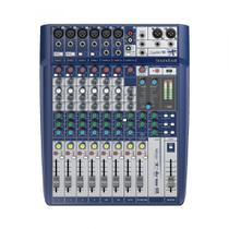 Mesa De Som Analógica Soundcraft Signature 10 Canais Com USB -