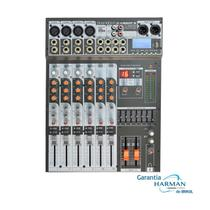 Mesa de Som Analógica SX 802 FX USB 8 Ch - Soundcraft -