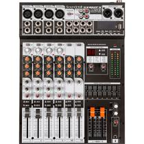 Mesa de Som Analógico USB com 8 canais - SX802FS - Soundcraft - HARMAN - SOUNDCRAFT