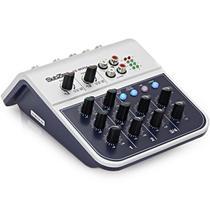 Mesa De Som Boxx Mix-02 4 Canais Ideal Para Live -