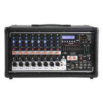 Mesa de Som Cabeçote Amplificado 8 Canais Peavey PV 8500 -