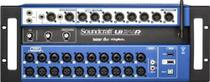 Mesa De Som Digital 24 Canais Controle Sem Fio Ui-24R - Soundcraft -