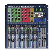 Mesa de Som Digital Si Expression 1 Soundcraft 16 Canais -