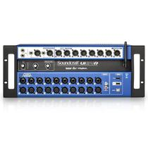 Mesa de som digital soundcraft ui24r com 24 canais -