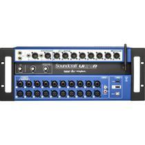 Mesa de Som Digital UI-24 Preta SOUNDCRAFT -