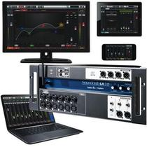 Mesa de som digital wireless 16 canais ui-16 - soundcraft -