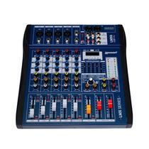 Mesa de Som Lexsen LMX6USB MP3 Mixer de 6 Canais com DSP e Bluetooth -