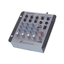 Mesa de Som LL Nanomix NA402R - 4 Canais - 110/220V - Ll Audio -