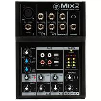 Mesa De Som Mackie Mix5 Com 5 Canais -