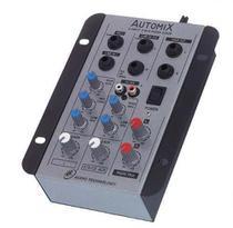 Mesa de som - Mixer Automix LL A202R - 2 Canais - 12 Volts - Ll Audio