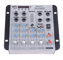 Mesa de Som Mixer LL Audio Carro Auto A502RBT Bluetooth