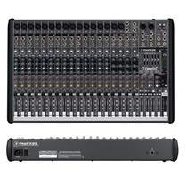 Mesa De Som Mixer Profx22 V2 22 Ch Usb Mackie -