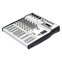 Mesa de Som MX-0603 USB 6 Canais USB/FM/Bluetooth - STANER -