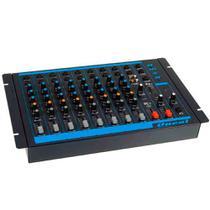 Mesa de Som Oneal OMX 8 Mixer Line 8 Canais -