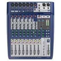 Mesa de Som Signature 10 Soundcraft 10 Canais -