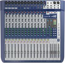 Mesa de Som Signature 16 Soundcraft 16 Canais