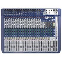 Mesa De Som Signature 22 Soundcraft 22 Canais -