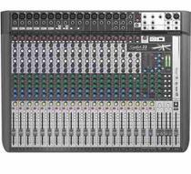 Mesa De Som Soundcraft 22 Canais Signature 22mtk Multipista -